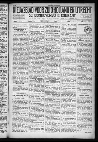 Schoonhovensche Courant 1930-08-11