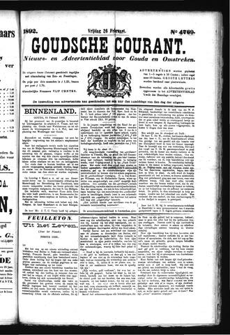 Goudsche Courant 1892-02-26