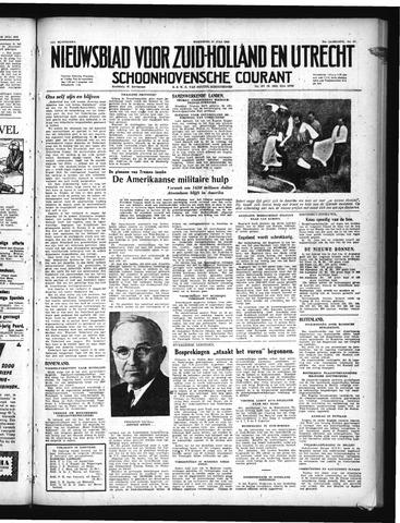 Schoonhovensche Courant 1949-07-27