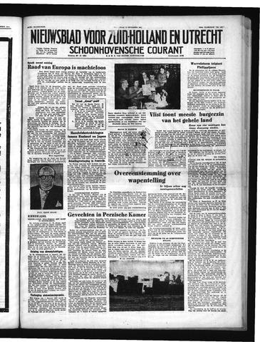 Schoonhovensche Courant 1951-12-12