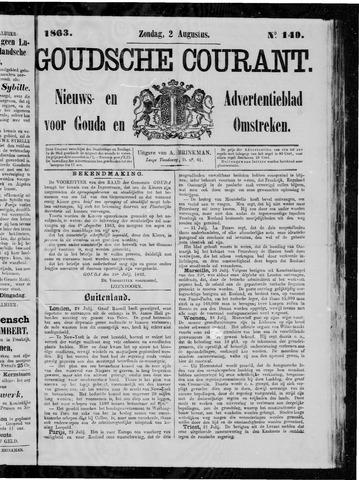 Goudsche Courant 1863-08-02