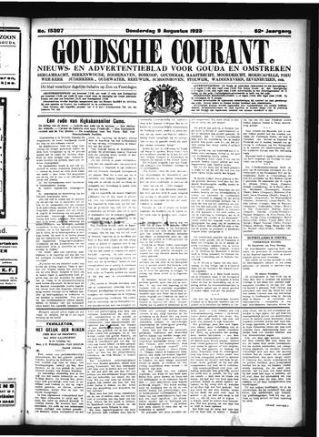 Goudsche Courant 1923-08-09