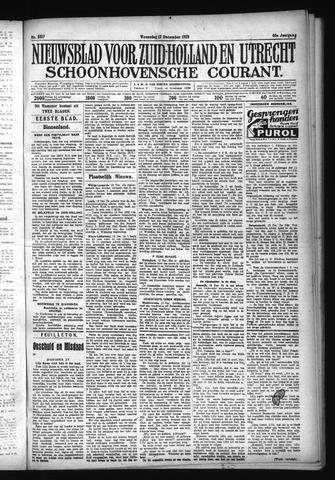 Schoonhovensche Courant 1928-12-12