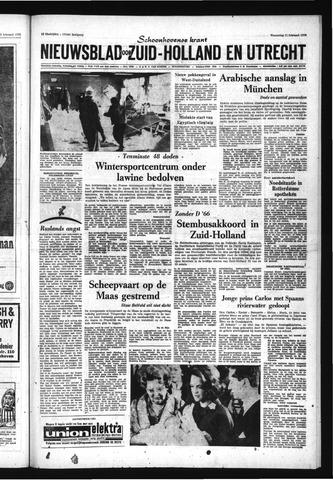 Schoonhovensche Courant 1970-02-11