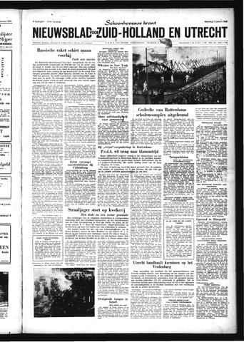 Schoonhovensche Courant 1959-01-05