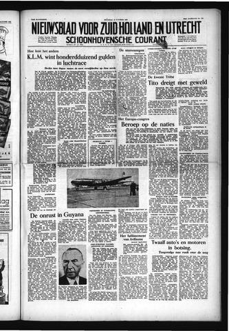 Schoonhovensche Courant 1953-10-12