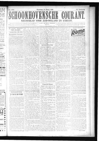 Schoonhovensche Courant 1925-03-16