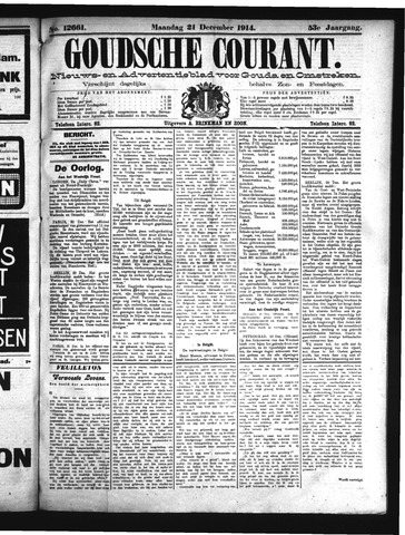 Goudsche Courant 1914-12-21