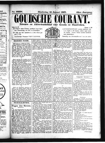 Goudsche Courant 1907-01-10