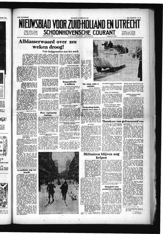 Schoonhovensche Courant 1953-02-11