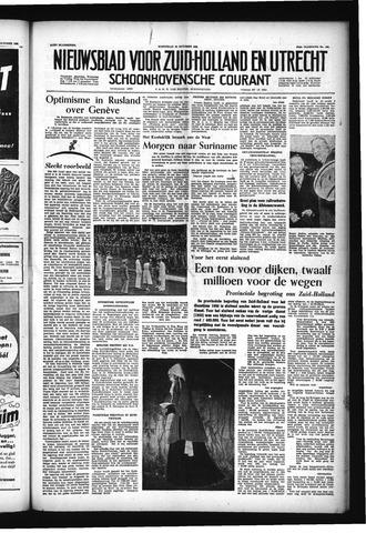Schoonhovensche Courant 1955-10-26