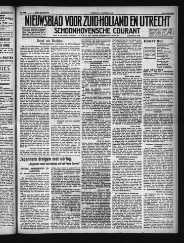 Schoonhovensche Courant 1940-08-07
