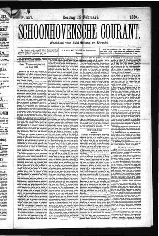 Schoonhovensche Courant 1880-02-15