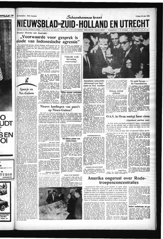 Schoonhovensche Courant 1962-06-22