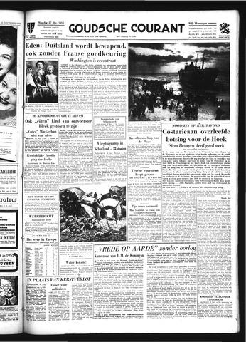 Goudsche Courant 1954-12-27