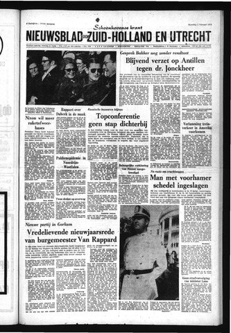 Schoonhovensche Courant 1970-02-02