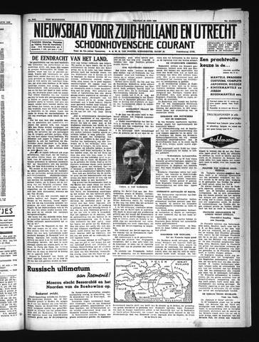 Schoonhovensche Courant 1940-06-28