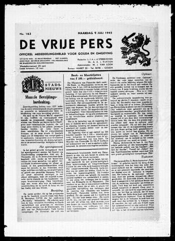 De Vrije Pers 1945-07-09
