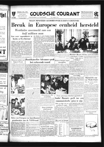 Goudsche Courant 1954-10-04