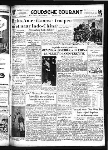 Goudsche Courant 1954-04-26