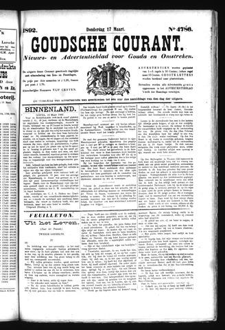 Goudsche Courant 1892-03-17
