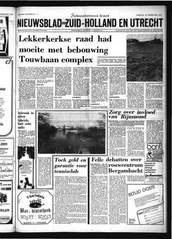Schoonhovensche Courant 1975-02-28