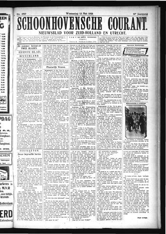 Schoonhovensche Courant 1925-05-13