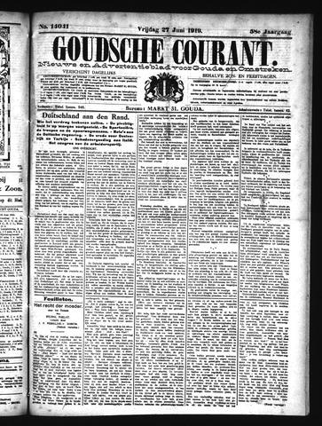 Goudsche Courant 1919-06-27