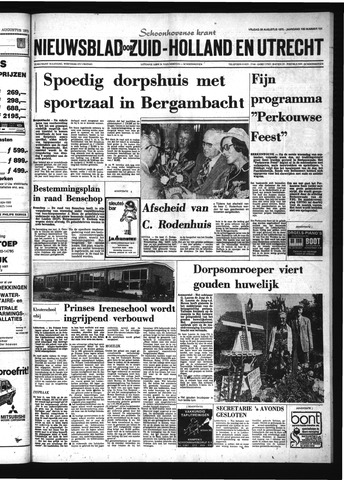 Schoonhovensche Courant 1975-08-29