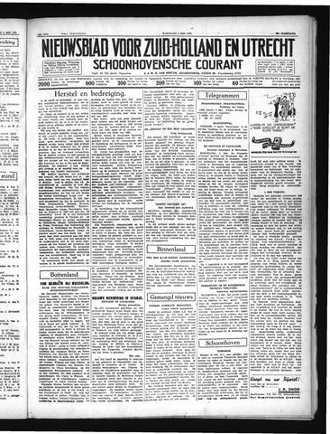 Schoonhovensche Courant 1937-05-05
