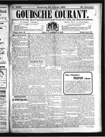 Goudsche Courant 1913-02-20