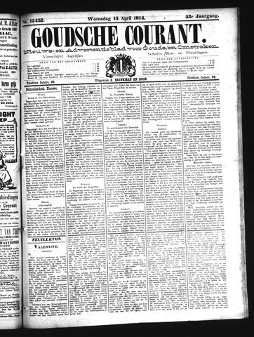 Goudsche Courant 1914-04-15