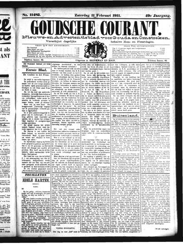 Goudsche Courant 1911-02-11