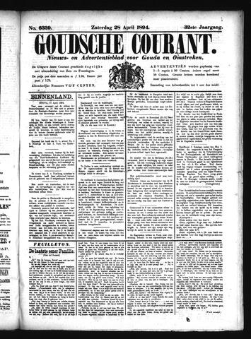 Goudsche Courant 1894-04-28