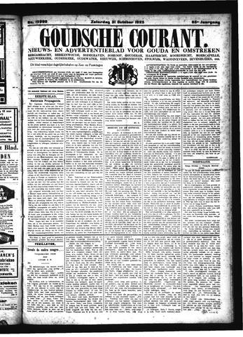 Goudsche Courant 1925-10-31