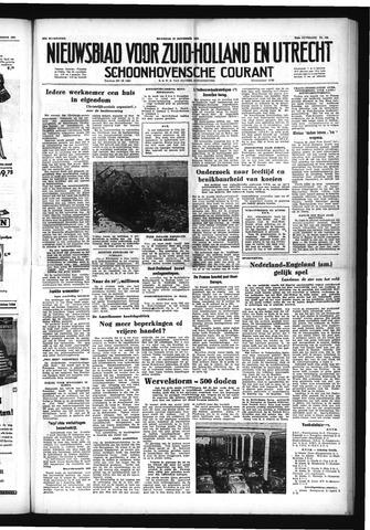 Schoonhovensche Courant 1952-11-17