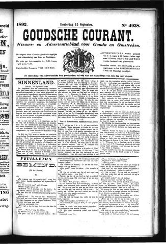 Goudsche Courant 1892-09-15