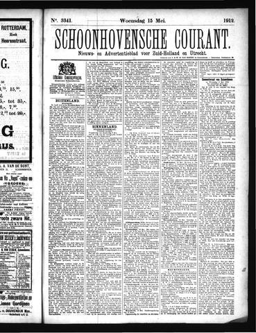 Schoonhovensche Courant 1912-05-15