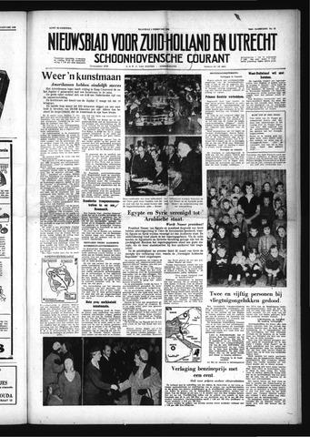 Schoonhovensche Courant 1958-02-03