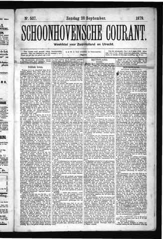 Schoonhovensche Courant 1879-09-28