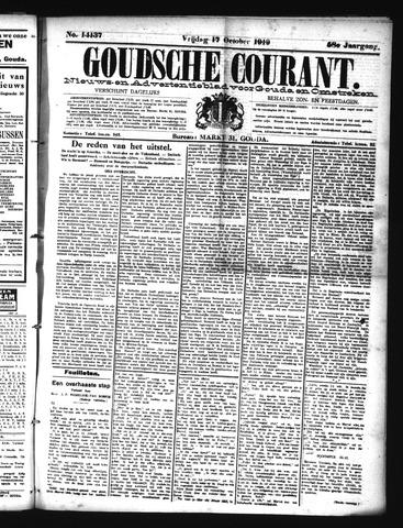 Goudsche Courant 1919-10-17