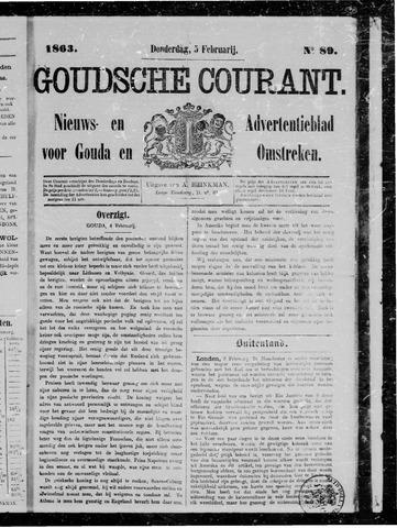 Goudsche Courant 1863-02-05