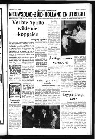 Schoonhovensche Courant 1971-02-01