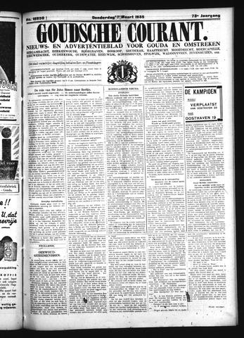 Goudsche Courant 1935-03-07