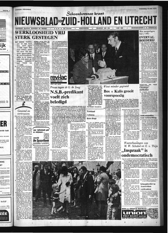 Schoonhovensche Courant 1972-05-10