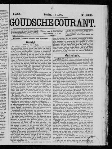Goudsche Courant 1866-04-15