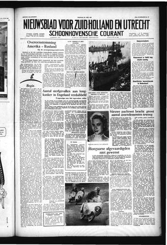 Schoonhovensche Courant 1957-06-28