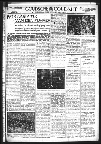 Goudsche Courant 1943-02-01