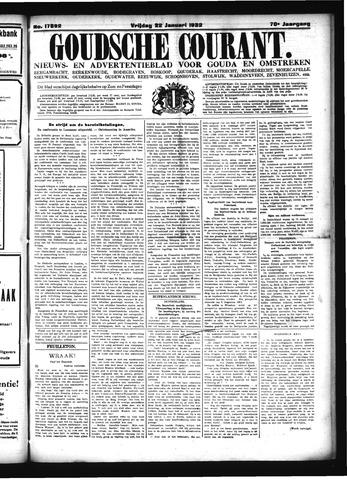Goudsche Courant 1932-01-22