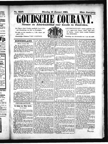 Goudsche Courant 1895-01-15
